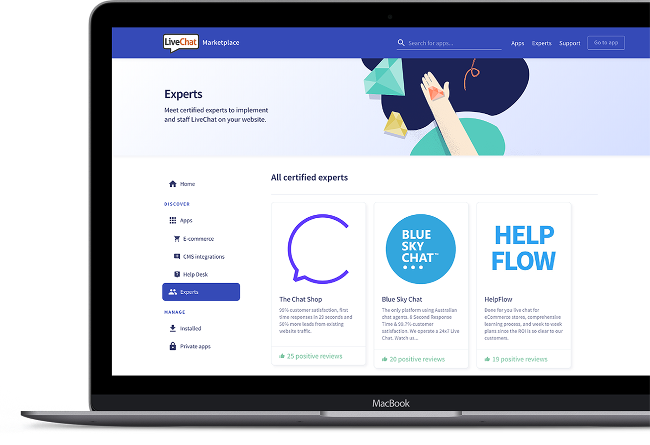 Experts Marketplace